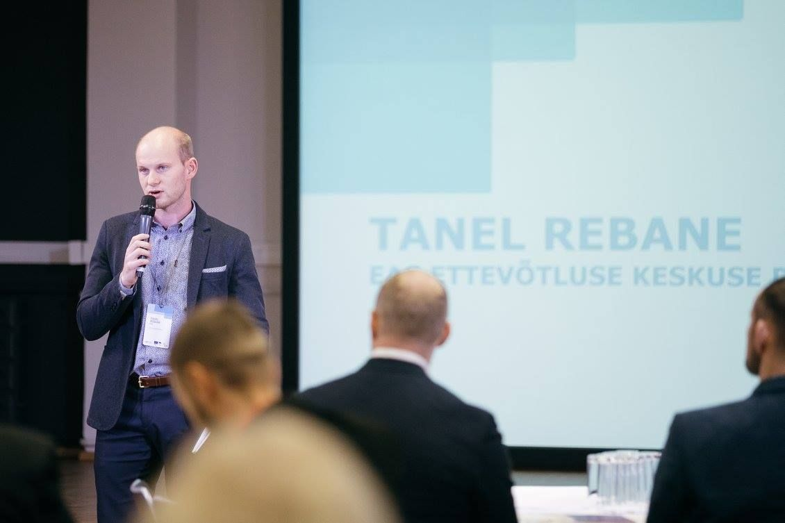 EASi ettevõtluse keskuse juht Tanel Rebane. Foto: EAS