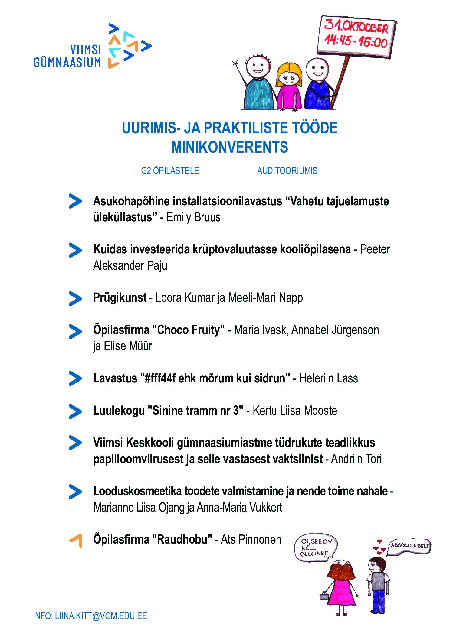 UPT minikonverents 31.10.2018