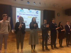 14. märtsil toimus vabariiklik inglise keele kõnevõistlus