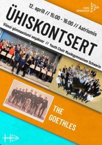 Goethegymnasiumi ja VGMi ühiskontsert