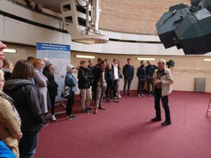 G3 õpilased Tartu observatooriumis Tõraveres