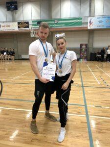 Margareta Schönberg (G3) saavutas head tulemused Cheerleadingu Eesti meistrivõistlustel