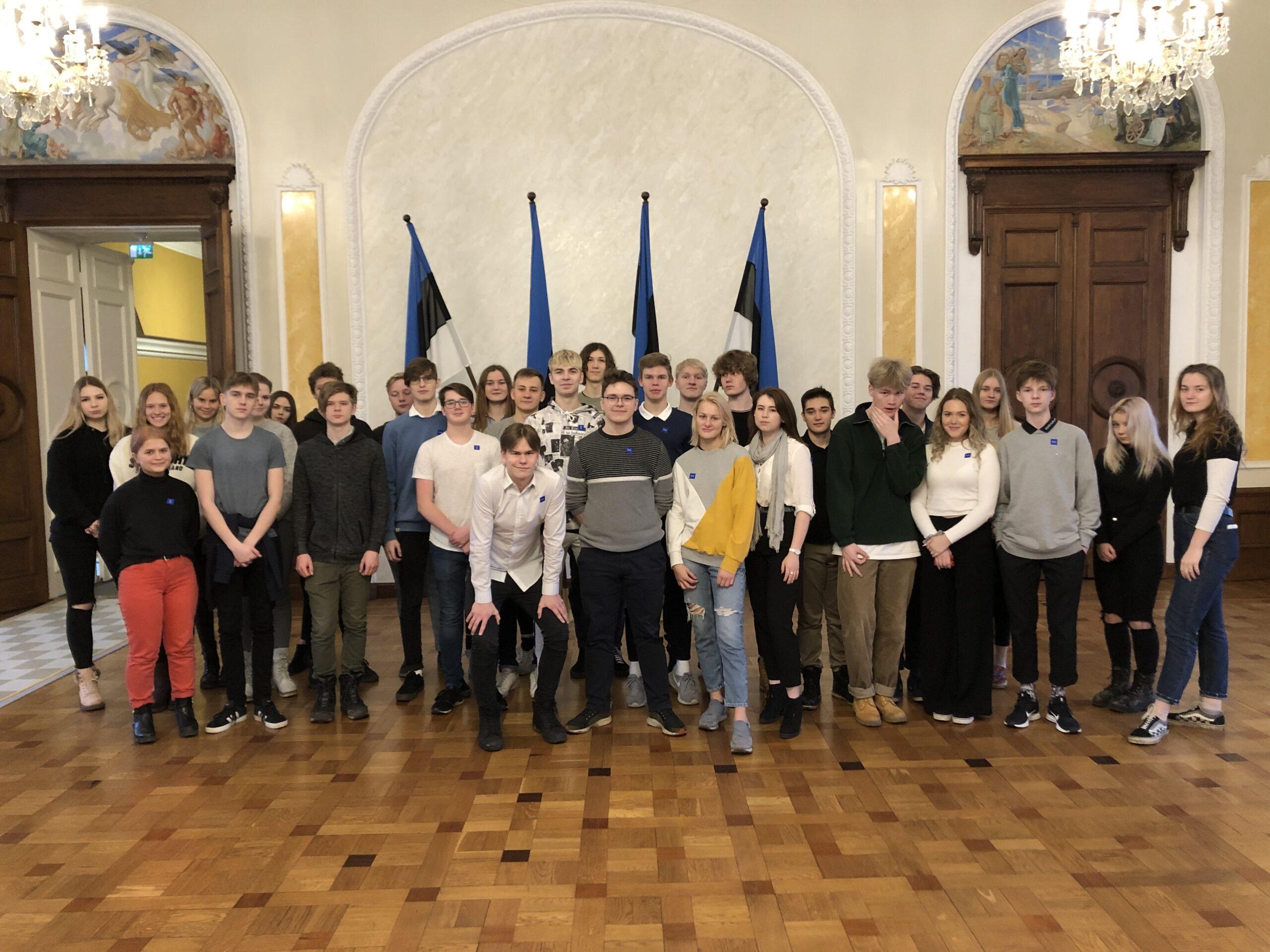 Majandusmoodul külastas Riigikogu
