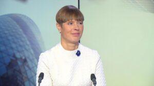 Külalislektor 20.mail: president Kersti Kaljulaid