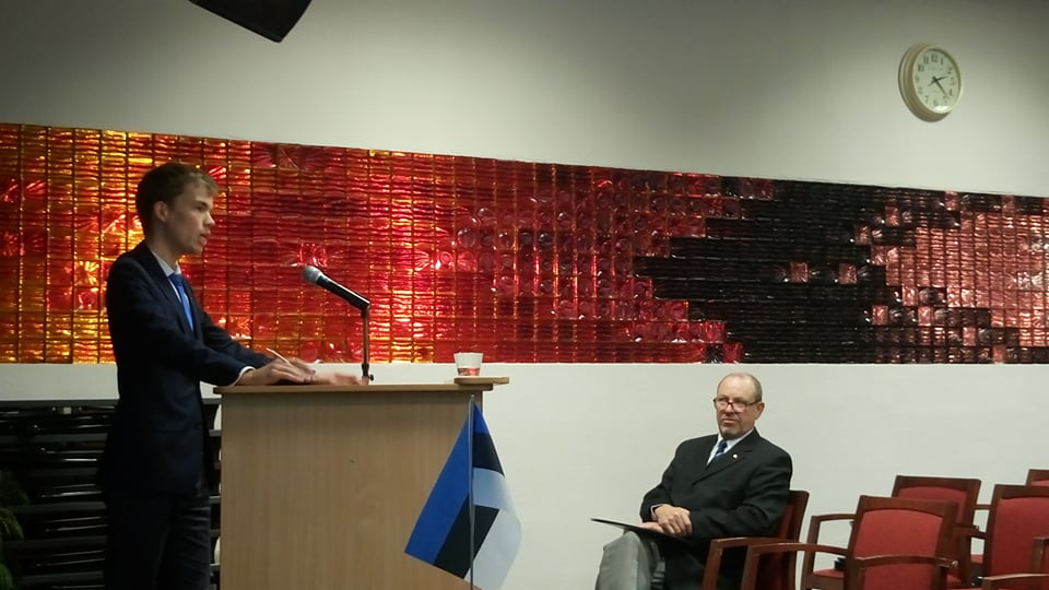 Ranno Sõnum (G3) Jõhvi Muuseumi Seltsi seminaril