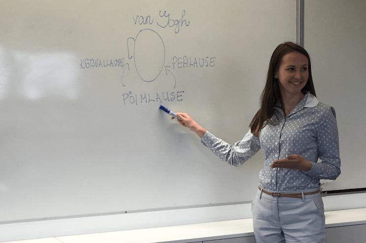 Rebecca Hanson (G2): Õpetajal on võimalus kujundada paremat ühiskonda