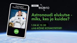 Read more about the article Füüsikaõpetaja Ingrid Rõigas helistas kosmosesse!