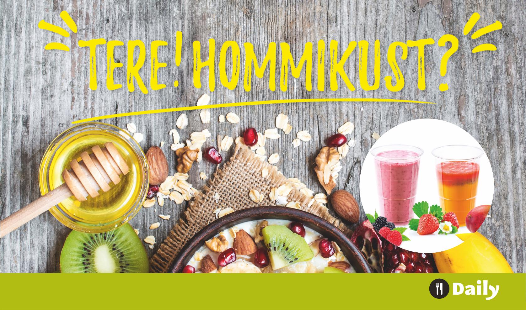 You are currently viewing Iga viies puder või smuuti tasuta – koolisööklas hommikusöögikampaania!
